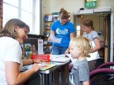 Summer Reading Challenge volunteers - previous years